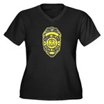 Rhode Island State Police Women's Plus Size V-Neck