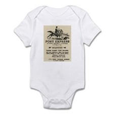 Pony Express Infant Bodysuit