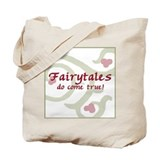 Fairytales Pink Tote Bag