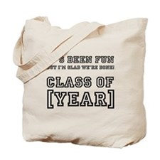Graduation Year Personalize It! Tote Bag