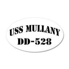 USS MULLANY Wall Decal