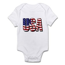 U.S.A. Infant Bodysuit