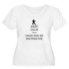 Keep Calm I'm a Chun Kuk Do Instructor Plus Size T