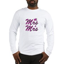 Mrs & Mrs Long Sleeve T-Shirt