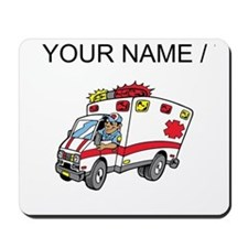 Custom Cartoon Ambulance Mousepad