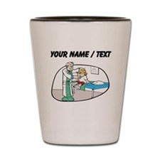 Custom Pediatrician Shot Glass