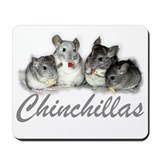 Chinchillas Mousepad