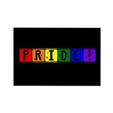 Pride Film Strip Rectangle Magnet
