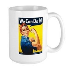 Rosie The Riveter Large Mug