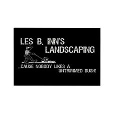 Les B. Inn's Landscaping Rectangle Magnet