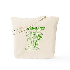 Custom Surf Beach Tote Bag