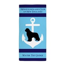 Ncne Water Test Judge Beach Towel