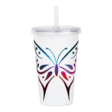 Unique Colored Acrylic Double-wall Tumbler