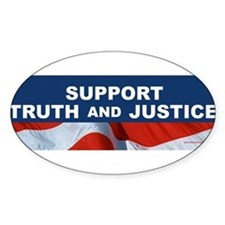 Funny Justice Decal