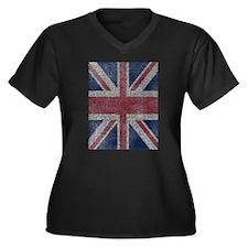 Beach Towel Union Jack Plus Size T-Shirt