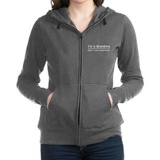 I'm a grandma what's your superpower Women's Zip H