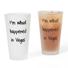 I'm what happened in Vegas Drinking Glass