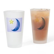 Once in a Blue Moon Drinking Glass