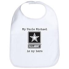 My Uncle Is My Hero US Army Bib