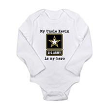 My Uncle Is My Hero US Army Body Suit