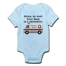 Relax My Aunt Is A Paramedic (Custom) Body Suit