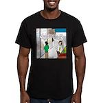 Men Shopping Men's Fitted T-Shirt (dark)
