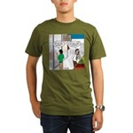 Men Shopping Organic Men's T-Shirt (dark)