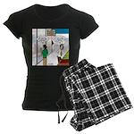 Men Shopping Women's Dark Pajamas