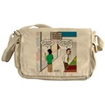 Men Shopping Messenger Bag