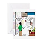 Men Shopping Greeting Cards (Pk of 20)