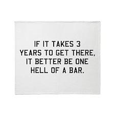 Bar exam Throw Blanket
