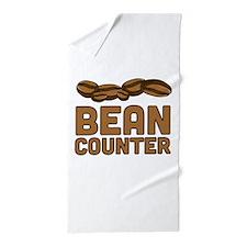 Bean counter Beach Towel