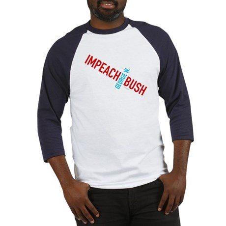 Impeach George W. Bush Baseball Jersey