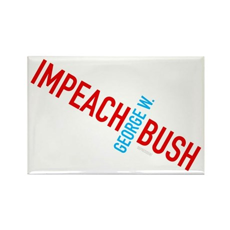 Impeach George W. Bush Rectangle Magnet (100 pack)