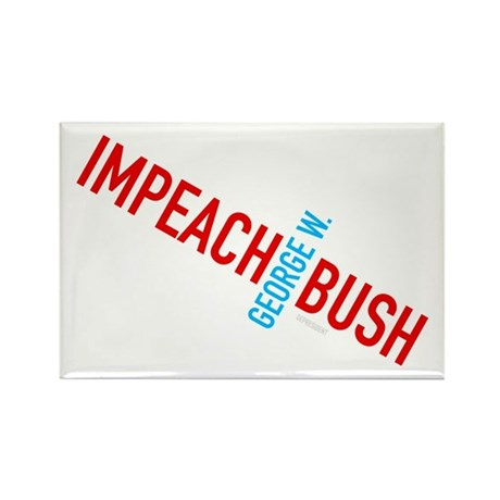 Impeach George W. Bush Rectangle Magnet (10 pack)
