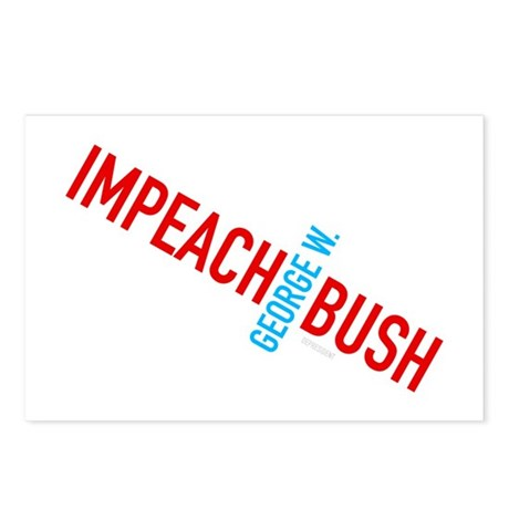Impeach George W. Bush Postcards (Package of 8)