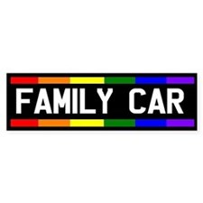 Family Car Bumper Bumper Sticker