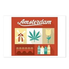 Dutch Pride Postcards (Package of 8)