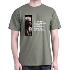 "Twain ""Doesn't Read"" T-Shirt"