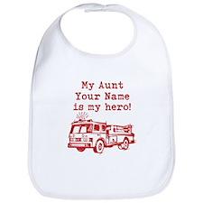 My Aunt Is My Hero (Custom) Bib