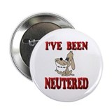Neutered Dog Button