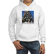Custom Personalized Color Photo and Text Hoodie