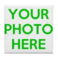Customize photos Tile Coaster