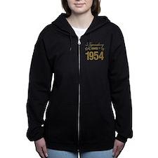 Legendary Since 1954 Birthday Women's Zip Hoodie