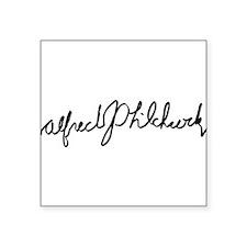 """Cute Alfred Square Sticker 3"""" x 3"""""""