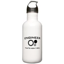 Engineer that's how I roll Water Bottle