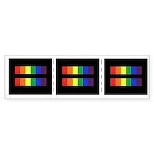 Rainbow Equality Share-A-Car Sticker
