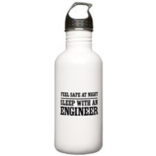 Feel safe sleep engineer Water Bottle
