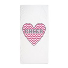 Cute Cheerleader coach Beach Towel