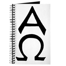 Alpha Omega Symbol Journal